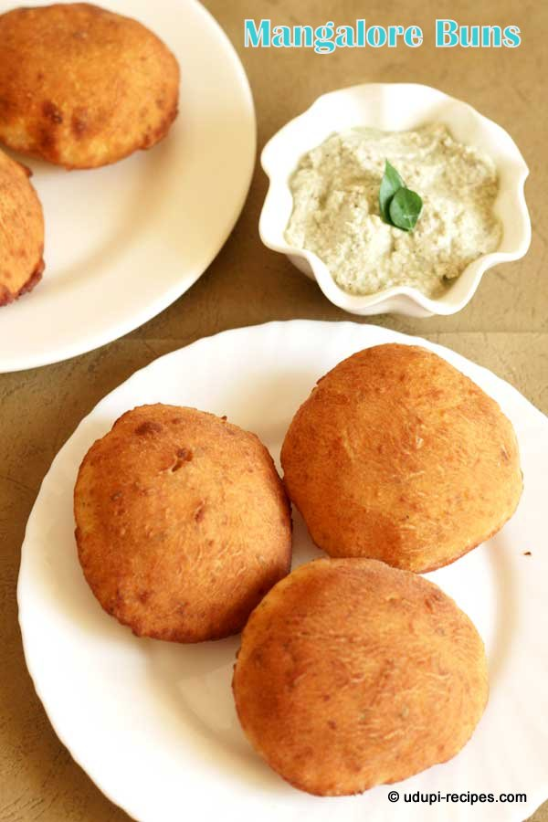 Mangalore Buns Recipe | Fried Banana Buns | Banana Puris