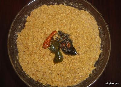 Horse gram Chutney | Horsegram Chutney Recipe