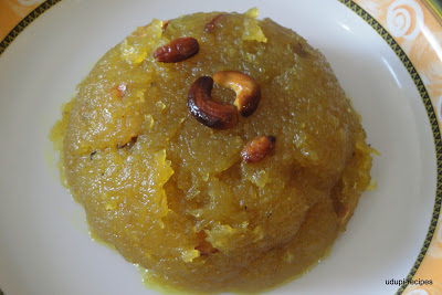Ash Gourd Recipes-Kashi Halwa/Ash Gourd Halwa Recipe