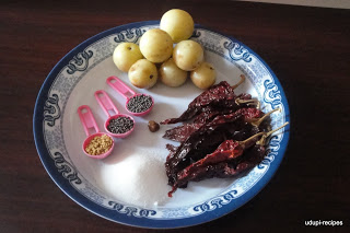 amla pickle ingredients