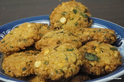 Masala Vada Recipe/Chattambade Recipe