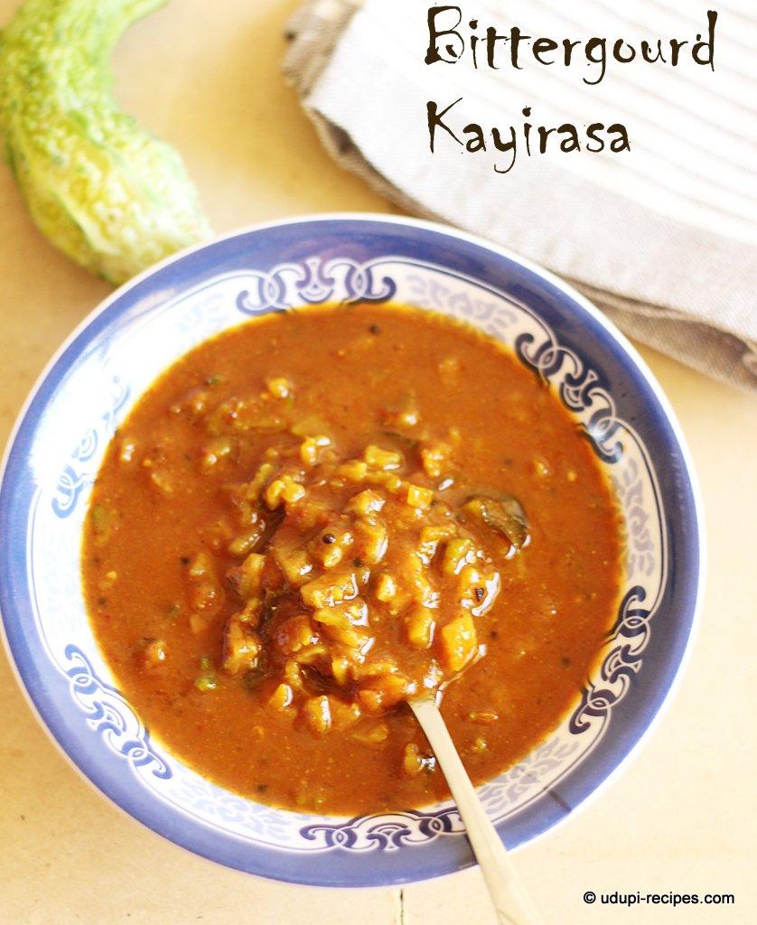 bittergourd kayirasa | curry