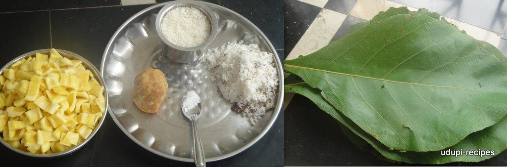 Jackfruit Recipes- Jackfruit dumpling/Jackfruit gatti/Halasina hannina gatti