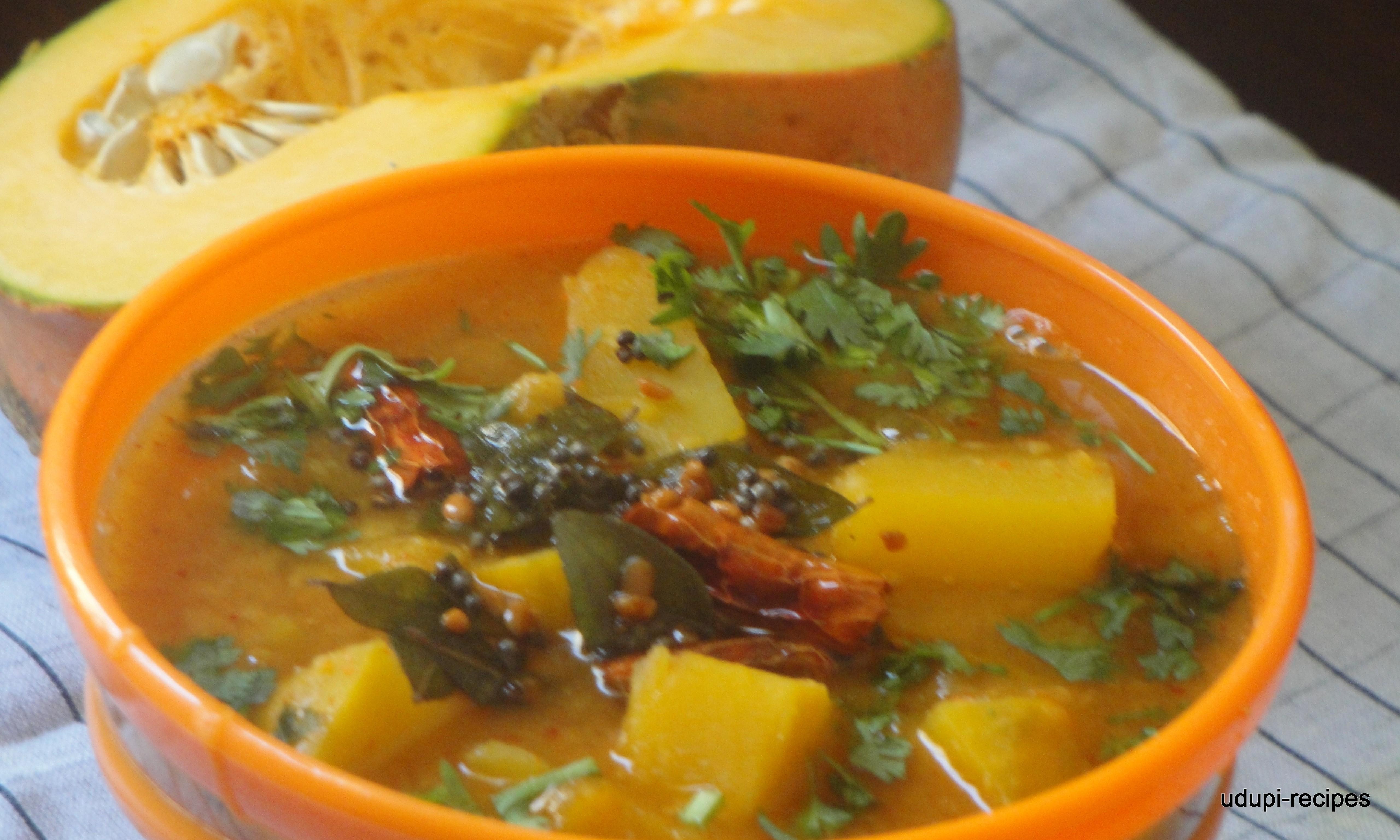 Pumpkin Recipes-Pumpkin Curry/Sweet Pumpkin Curry Recipe