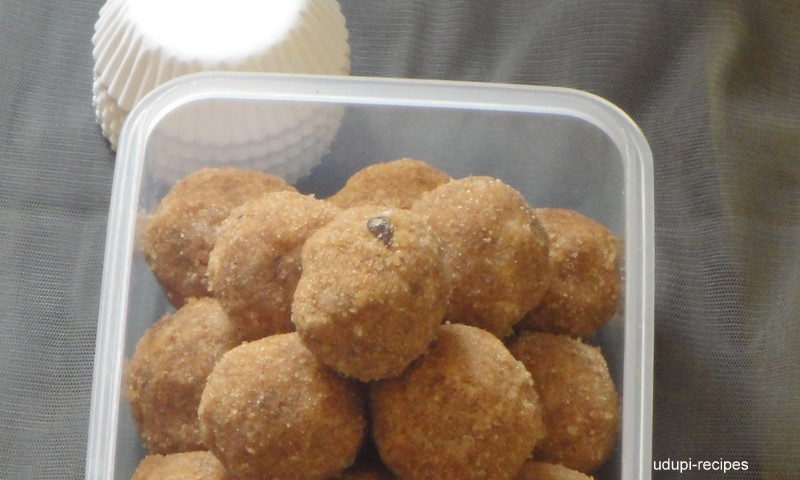 brown rice laddu