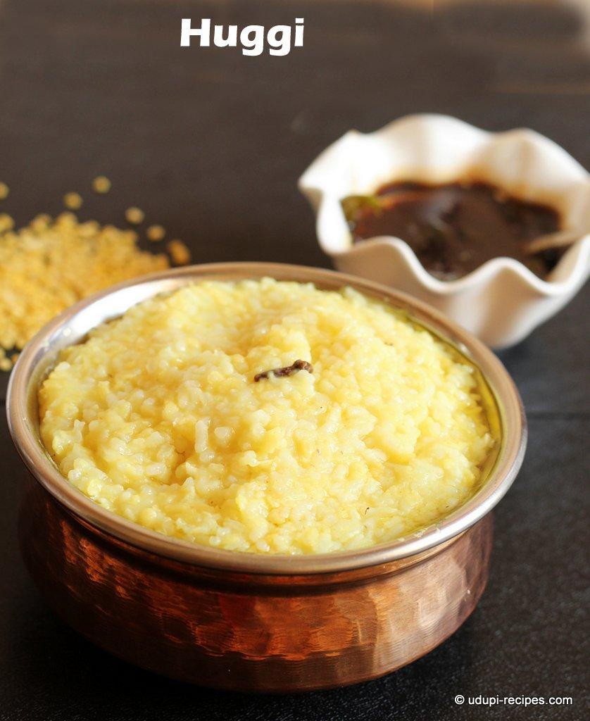 Huggi (Kara Pongal) Recipe in Udupi Style