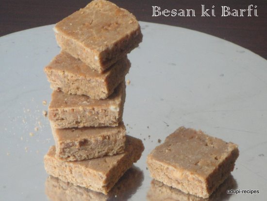 Besan ki Barfi | Gram Flour Barfi Recipe
