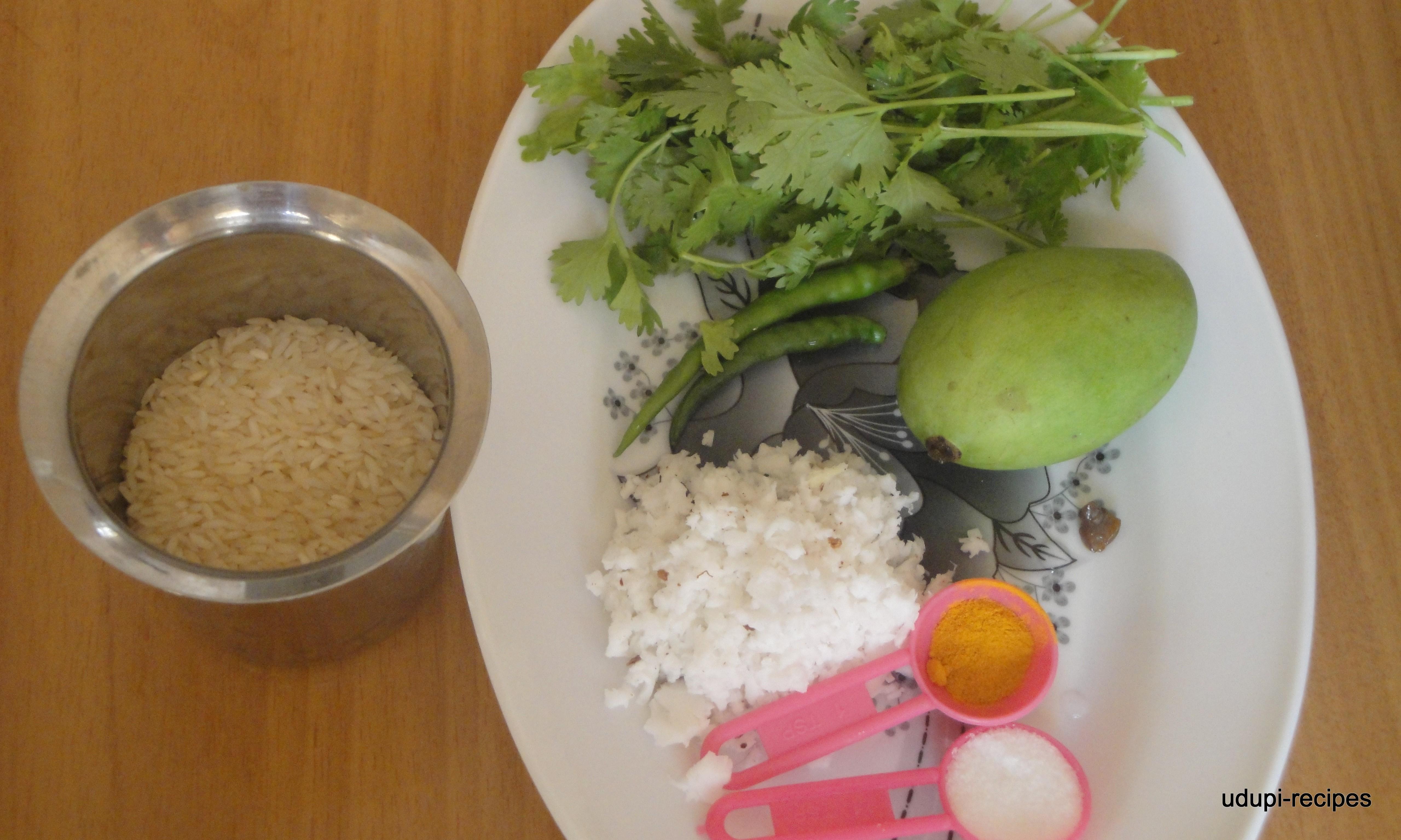 Raw Mango Recipes | Raw Mango Rice | Mango Chitranna Recipe