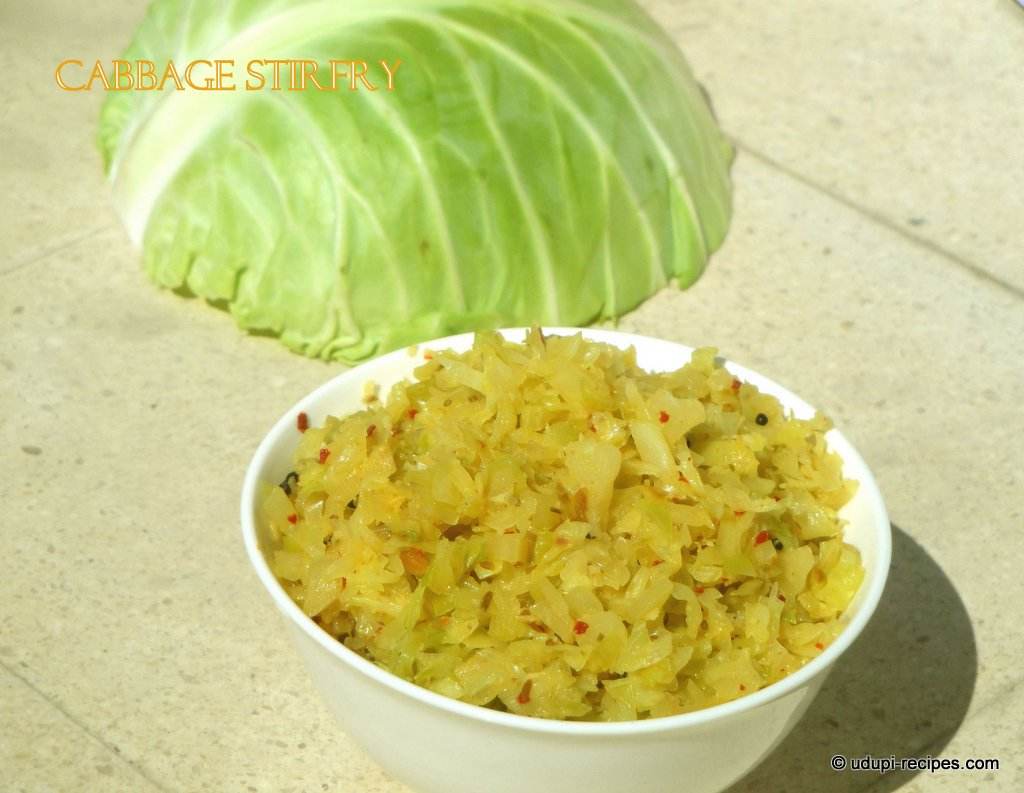 cabbage stirfry