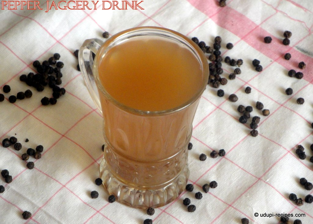 Pepper Jaggery Drink | Black Pepper Panaka Recipe