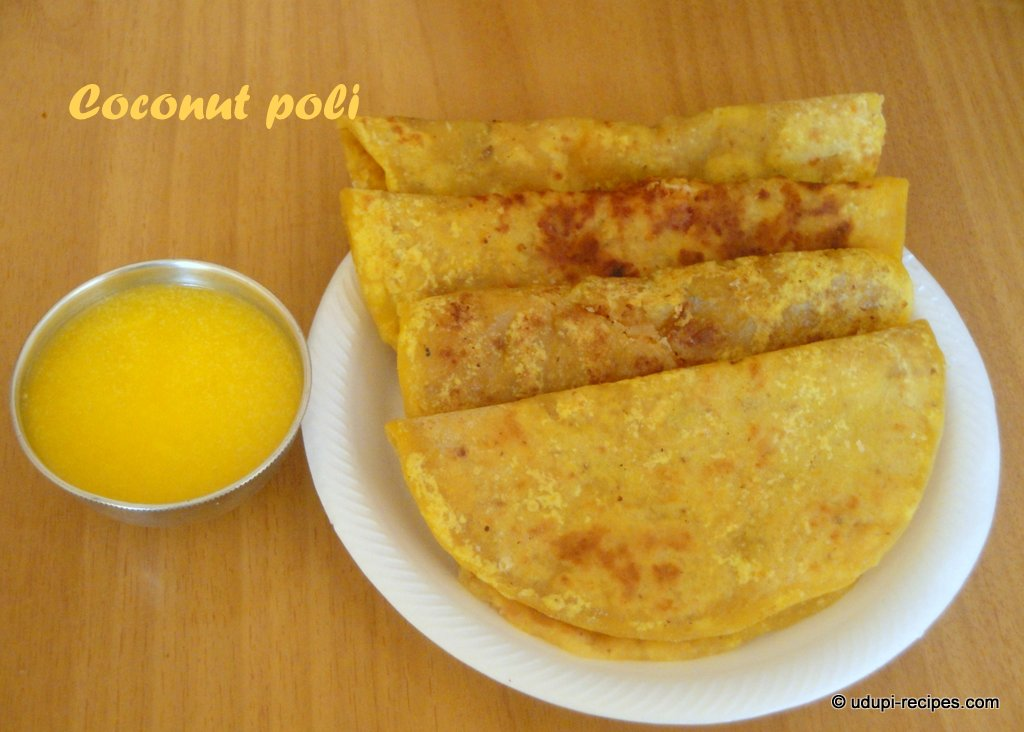 Coconut Poli | Kayi Holige Recipe