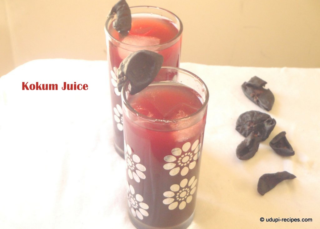 kokum juice ready