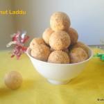 peanut laddu sweet