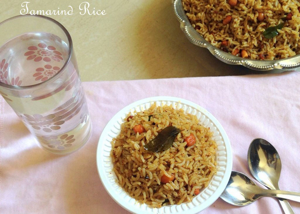 Tamarind Rice Recipe | Puliyogare Recipe - Udupi Recipes