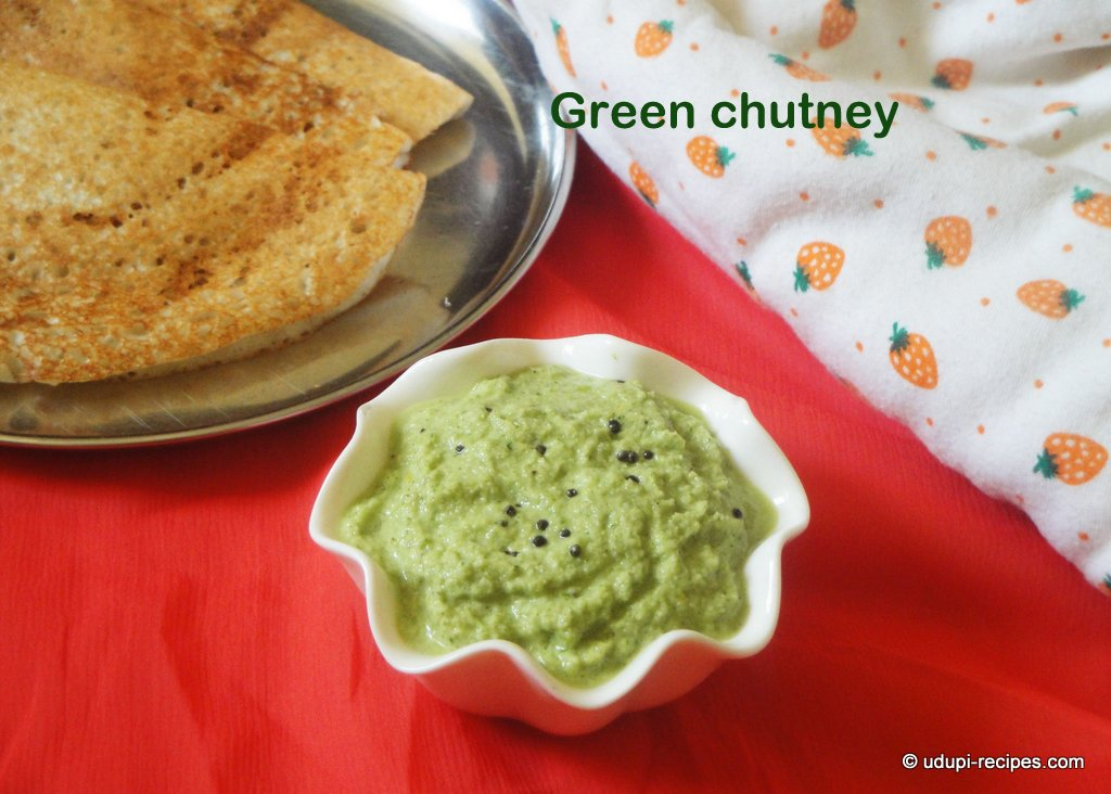 Green coconut chutney recipe side dish for idli dosa udupi recipes forumfinder Gallery