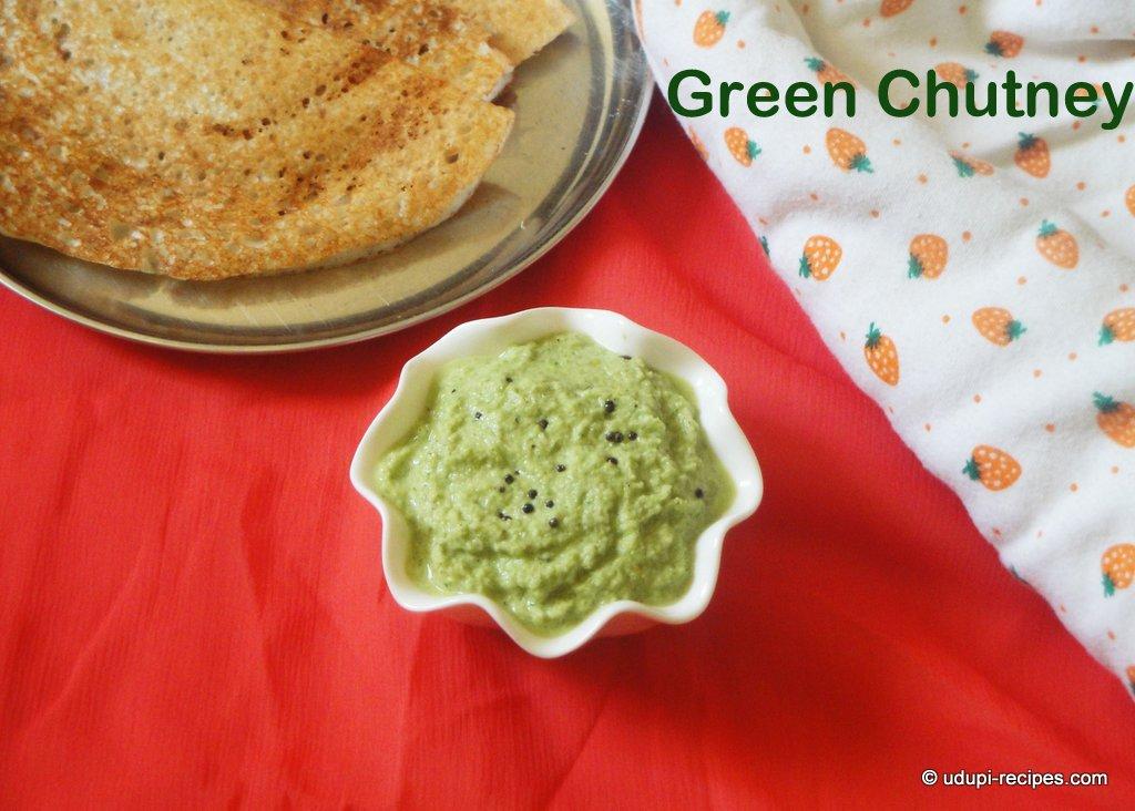 green coconut chutney