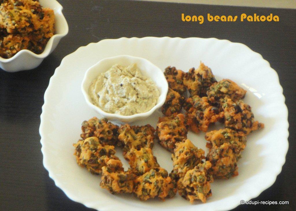 Long beans pakoda | Long beans fritters Recipe