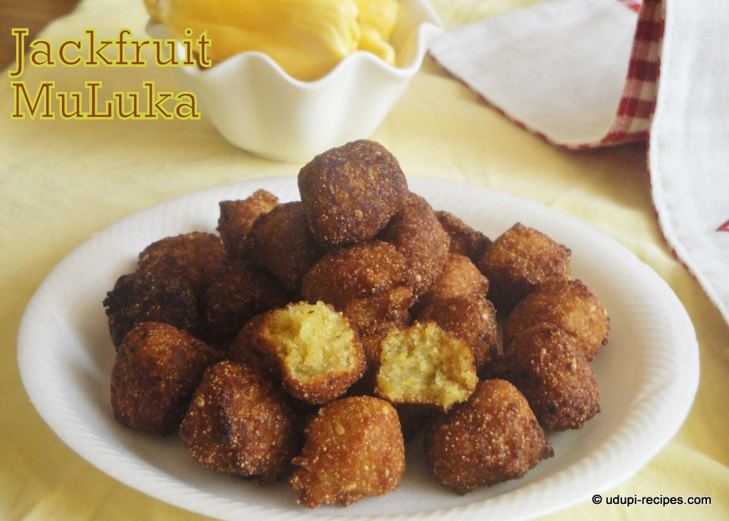 Jackfruit Appa Using Rava Jackfruit Muluka Recipe Udupi Recipes