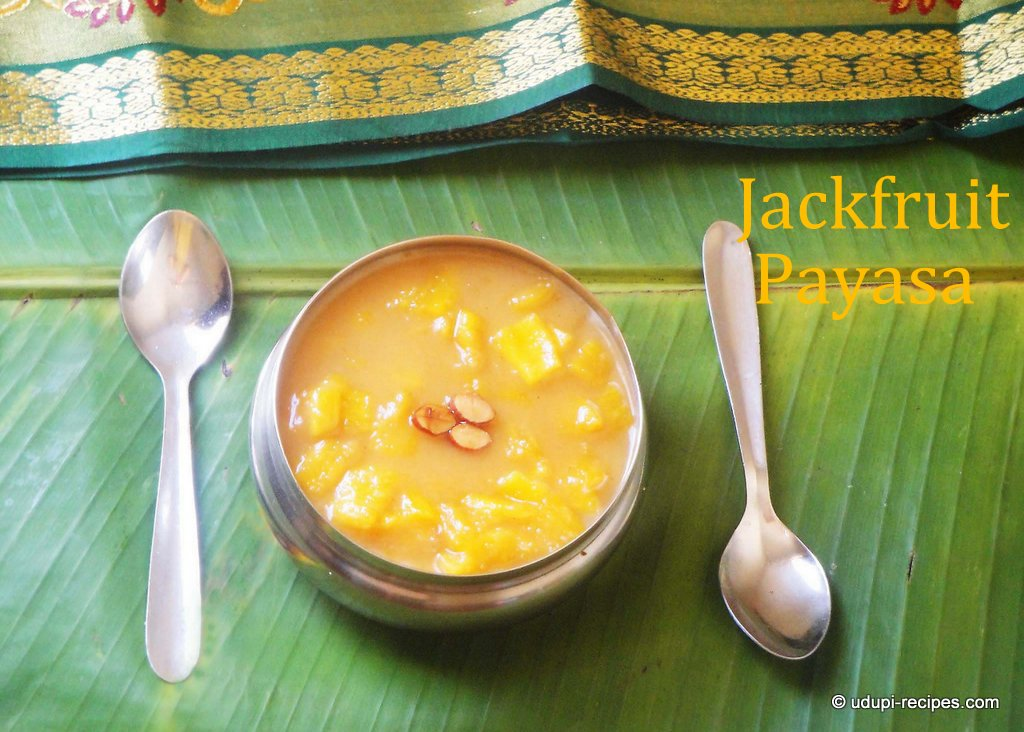 Jackfruit Payasam Recipe | Jackfruit Payasa