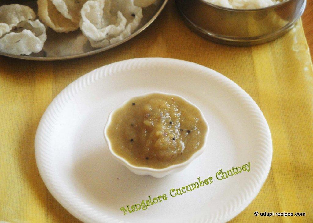 mangalore cucumber chutney