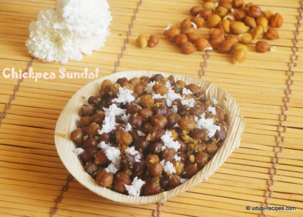 Black Chickpea Sundal | Idi Kadale Oggarane Recipe