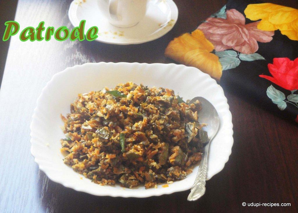 Patrode Oggarane Recipe