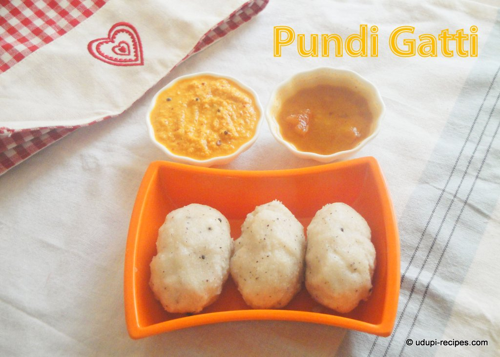 Pundi Gatti | Rice Dumpling Recipe