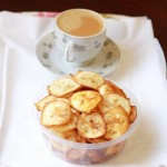 Crispy raw banana chips