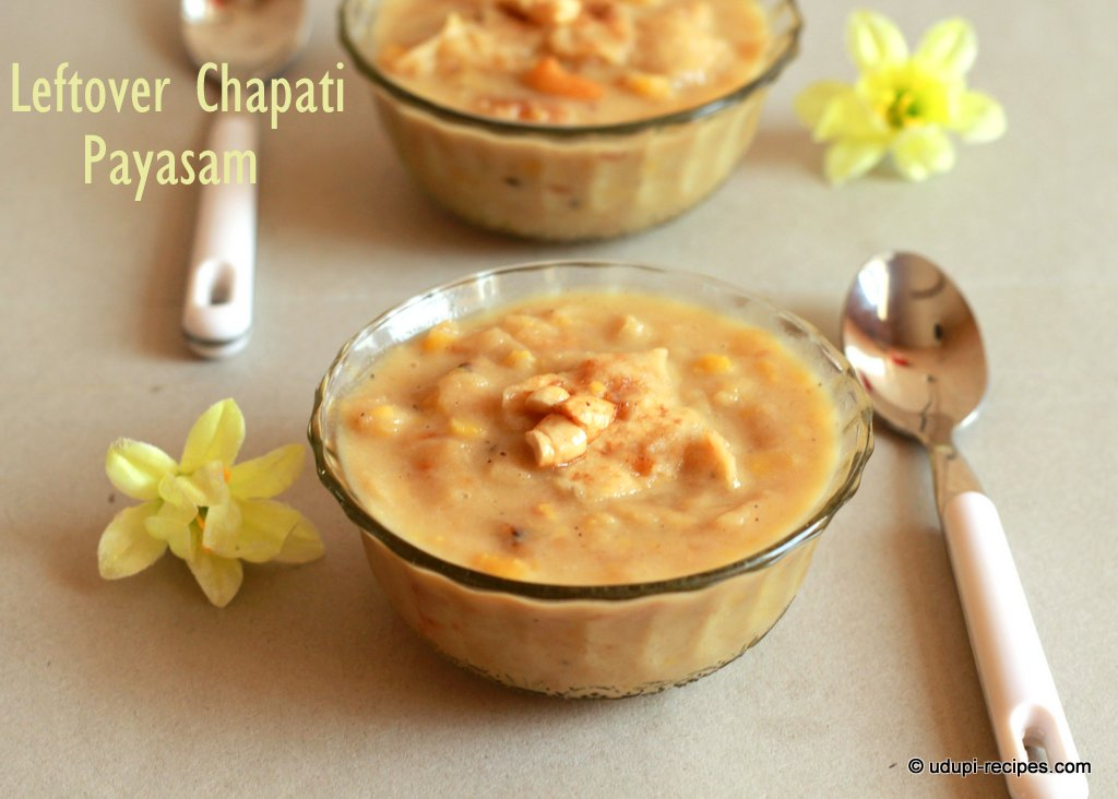 leftover chapati payasam yummy