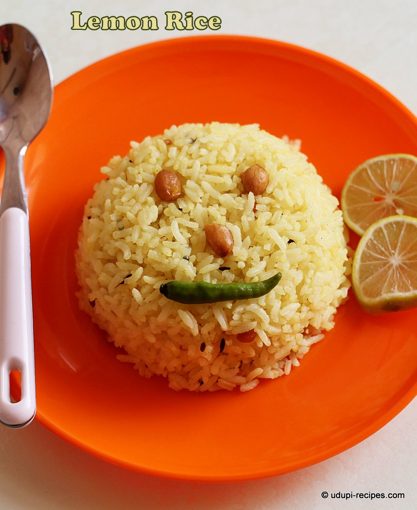 Lemon rice - Chitranna