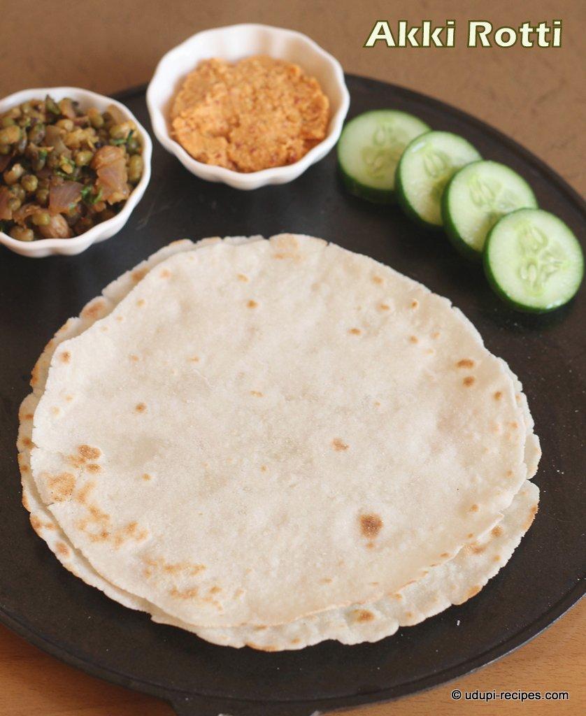 Akki Roti | Akki Rotti Recipe | Rice Pancake