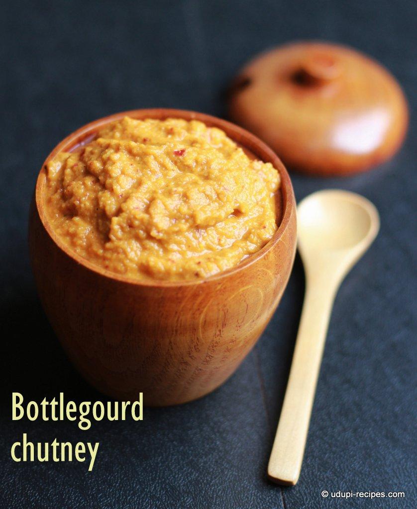 bottle gourd chutney