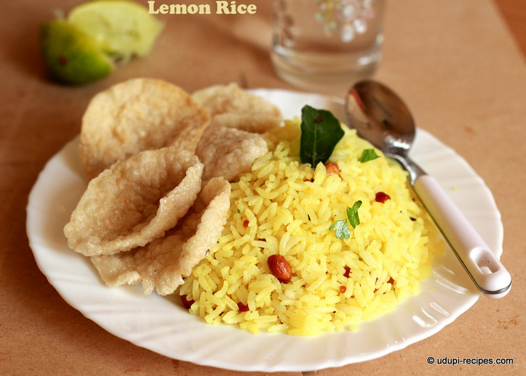 lemon rice- chitranna
