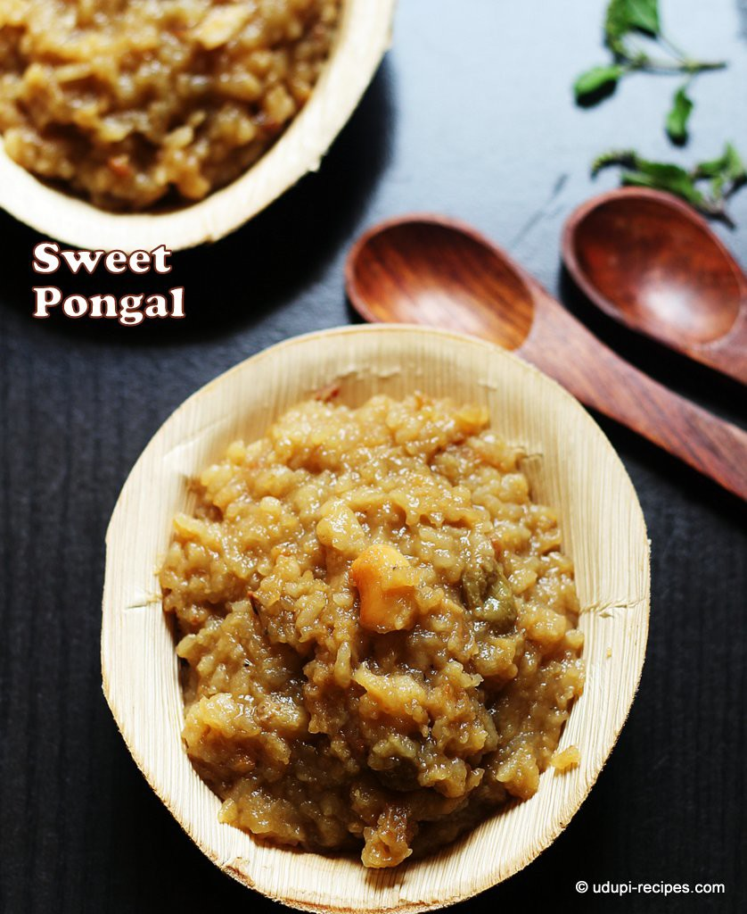 Sweet pongal on the Festival of Pongal