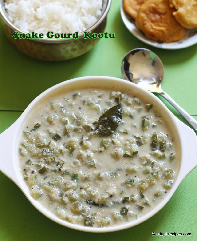 Yummy Snake gourd kootu