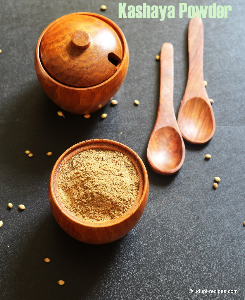 Kashaya Powder | Herbal Drink Powder Recipe