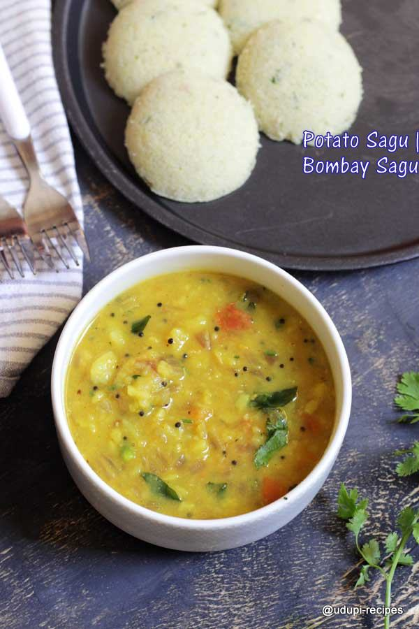 Potato sagu - Bombay sagu