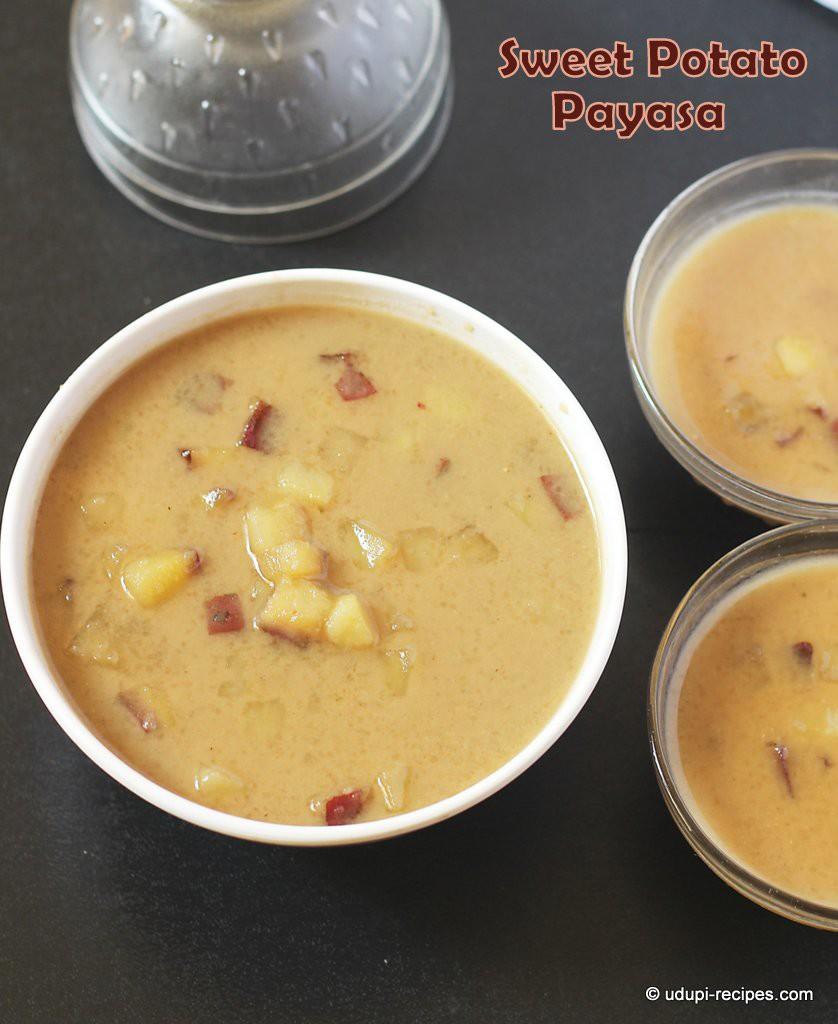 sweet potato  kheer #payasa