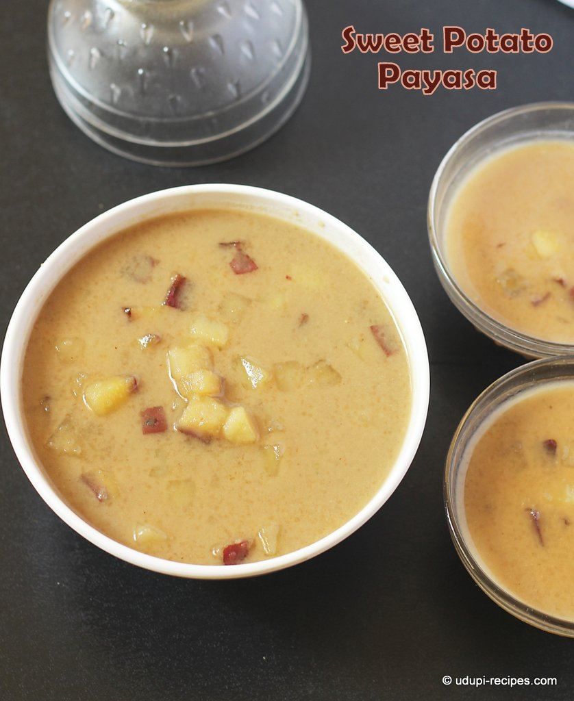 sweet potato kheer #payasa