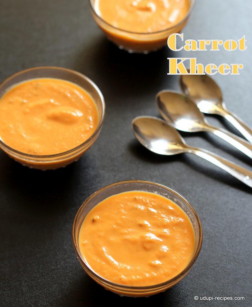 Carrot kheer #delicioius dessert