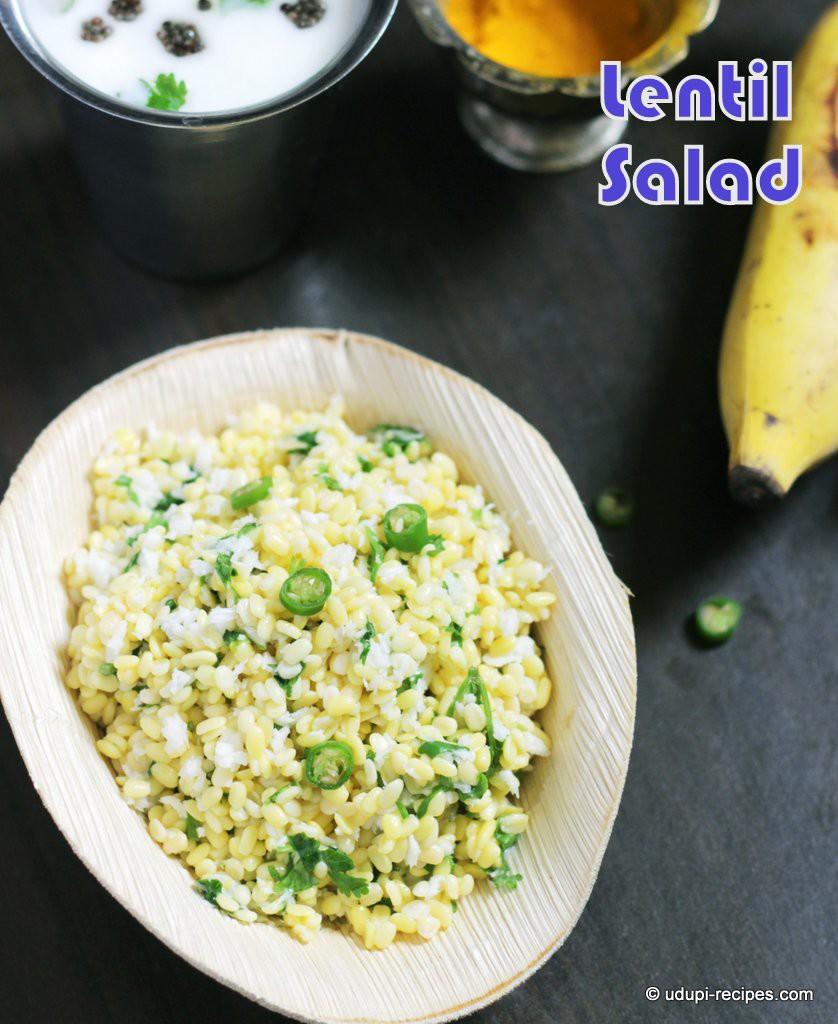 Moong dal salad hesaru bele kosambari recipe for rama navami moong dal salad ramanavami special forumfinder Gallery