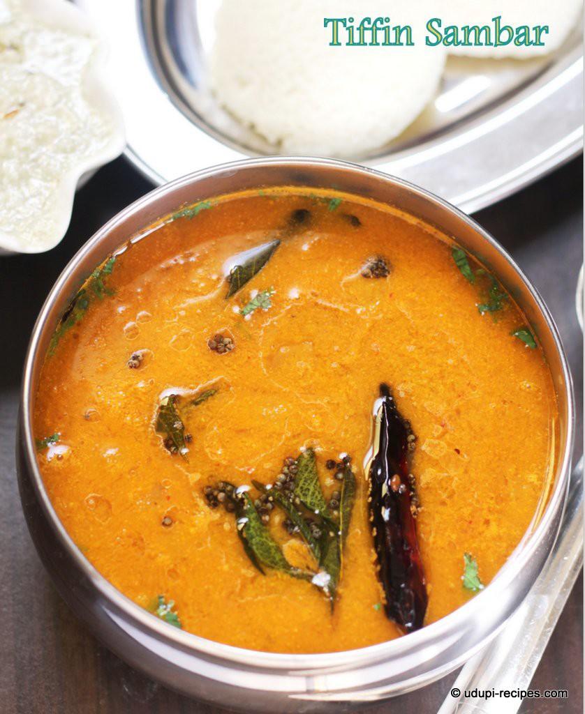 Idli Sambar Tiffin Sambar RecipeUdupi Recipes