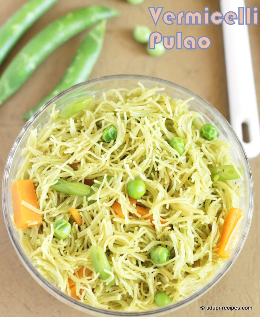 vermicelli pulao #easy breakfast #healthy