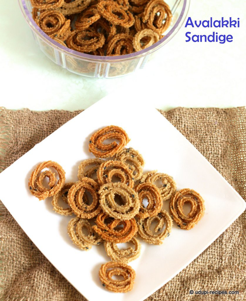 Avalakki sendige #sun dried crisps