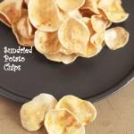 crispy sundried potato chips