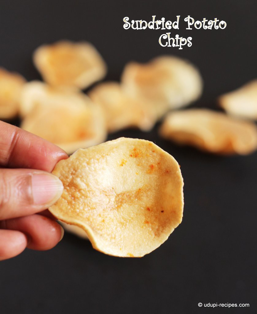 sun dried potato chips #summer special