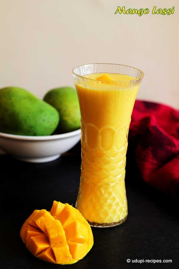 Mango Lassi #healthy summer drink