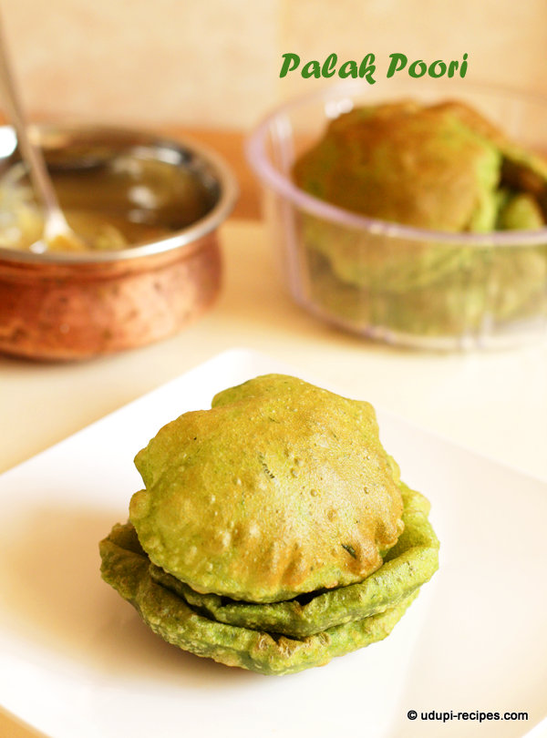 palak poori #yummy recipe