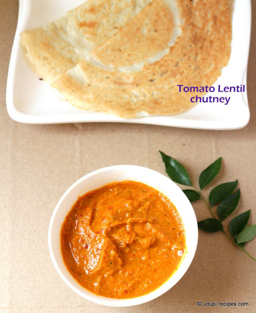 how to make chutney for dosa without coconut