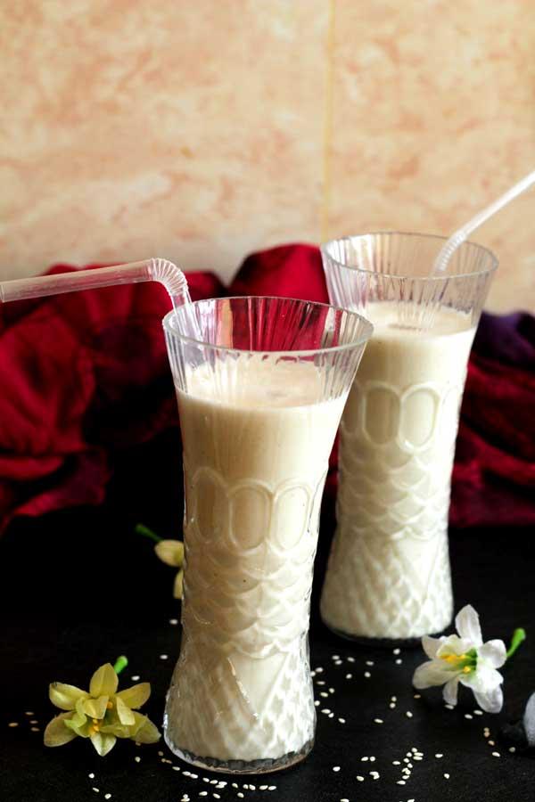 white-sesame-juice